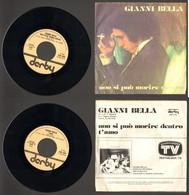 Gianni Bella - Non Si Può Morire Dentro - T'amo - Disco, Pop