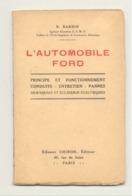 L'Automobile FORD, Camion 1 Tonne  - Oldtimer, Mécanique Automobile,..Détails, Voir Scan 2 Et 3. (b259) - Auto