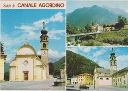 Cartoline Saluti Da...-canale Agordino - Saluti Da.../ Gruss Aus...