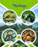 Maldives  2019 Fauna Monkeys  ,gibbon  S201907 - Maldives (1965-...)
