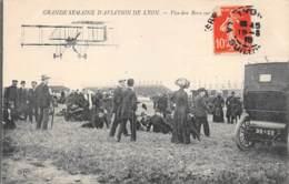 """AVIATION - MEETING - """"GRANDE SEMAINE D'AVIATION DE LYON"""" - VAN DEN BORN - Demonstraties"""