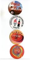4 JETONS  COCA COLA - Soda