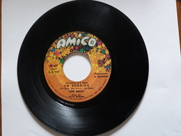 Don Backy  -  Un Sorriso. ( Festival Di San Remo 1969 )  -  Ed. AMICO    . - Disco, Pop