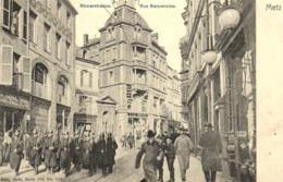 57 - Moselle - Metz  - Rue Serpenoise - Militaire - C 8884 - Metz