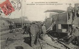 62 - Pas De Calais - Catastrophe De Courrières - Sallaumines - Locomotive Détruite - C 8887 - Autres Communes