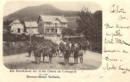 67 - Bas-Rhin - Donon-Hotel Velleda - Régiment De Cavalerie - C 8889 - Francia