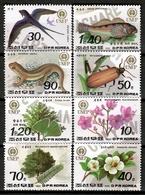 Korea North 1992 Corea / Fauna & Flora Bird Fish Lizard Insect Flowers MNH Flores Peces Pájaros / Cu12725  36-36 - Sin Clasificación
