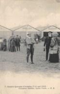 "AVIATION - MEETING - ""SEMAINE LYONNAISE D'AVIATION"" 1910 - L'AVIATEUR GABILAN, BIPLAN VOISIN - Meetings"