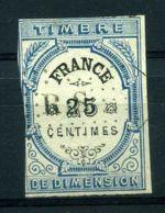 """FRANCE ( FISCAUX ) : TIMBRE  IMPERIAL """" DIMENSION """" A  SAISIR . - Fiscaux"""