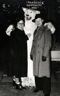 Photo Originale Déguisement & Eisbär, Ours Blanc Polaire & Friedens Weihnacht 1955 Entre Cousins - Anonymous Persons