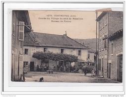FRANCE : Etrez, Rue Du Village (Poste - Autobus) - Etat - Otros Municipios