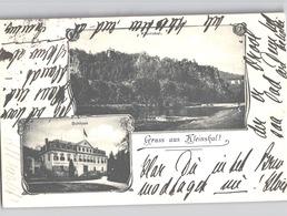 Gruss Aus Kleinskal Malá Skála Mehrbildkarte 1902 GegangenSchloss Und Panorama - Tchéquie