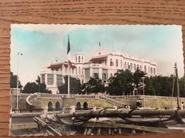 CPA, CPSM, Djibouti, Palais Du Gouverneur - Gibuti