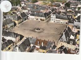 18 - Carte Postale Semi Moderne Dentelée De  HENRICHEMONT   Vue  Aérienne - Henrichemont