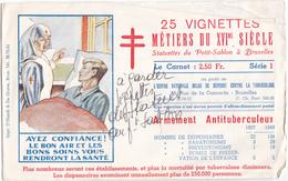 VIGNETTES OEUVRE NATIONALE BELGE DE DEFENSE CONTRE LA TUBERCULOSE - Dienstzegels