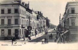 Bruxelles - L' Avenue Louise - Avenues, Boulevards