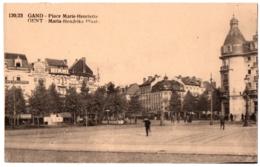CPA Belgique - GAND - 130/23. Place Marie-Henriette - Gent