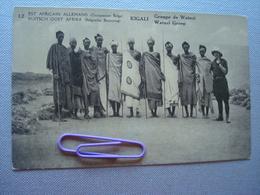 EST AFRICAIN ALLEMAND, Occupation BELGE : KIGALI, Groupe De WATUZI - Autres