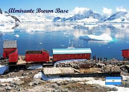 Antarctica Almirante Brown Base Argentina New Postcard Antarktis AK - Sonstige