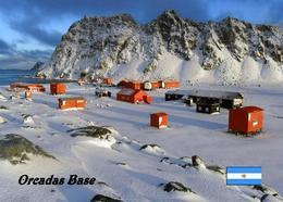 Antarctica Orcadas Base Argentina New Postcard Antarktis AK - Sonstige