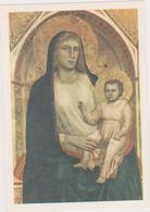 Cartoline Madonne- Madonna In Trono-giotto - Vergine Maria E Madonne