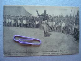 EST AFRICAIN ALLEMAND, Occupation BELGE : Indigènes Armés Dans LeRUANDA - Autres