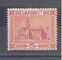 Saar  Michel #  100 **  Mit PF I - 1920-35 Saargebiet – Abstimmungsgebiet