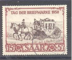 Saar  Michel #  291  Tag Der Briefmarke - 1920-35 Saargebiet – Abstimmungsgebiet