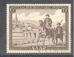 Saar  Michel #  305 Tag Der Briefmarke - 1920-35 Saargebiet – Abstimmungsgebiet