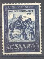 Saar  Michel #  316 Tag Der Briefmarke - 1920-35 Saargebiet – Abstimmungsgebiet