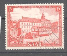 Saar  Michel #  349 Tag Der Briefmarke - 1920-35 Saargebiet – Abstimmungsgebiet