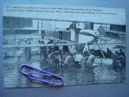 EST AFRICAIN ALLEMAND, Occupation BELGE : Mise à Flot D'un Hydravion Du Lac TANGANIKA - Autres