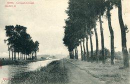 Mons Le Canal De Condé - Mons