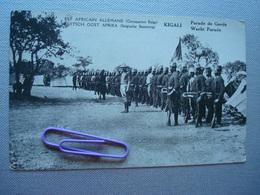 EST AFRICAIN ALLEMAND, Occupation BELGE : KIGALI, Parade De Garde - Autres