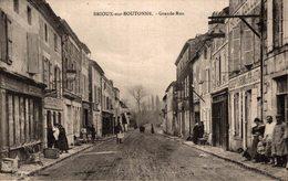 BRIOUX SUR BOUTONNE GRANDE RUE - Brioux Sur Boutonne