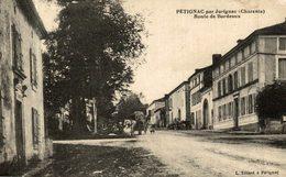 PETIGNAC PAR JURIGNAC ROUTE DE BORDEAUX - Autres Communes