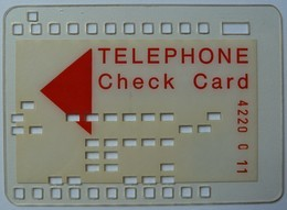 GERMANY - 1ST KNOWN PREPAID PHONECARD Of The WORLD - 1974 - Dusseldorf Worldcup - Check Card - Hexidecimal System - RRRR - Allemagne
