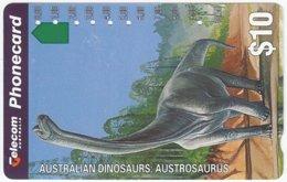 AUSTRALIA B-354 Optical Telecom - Prehistoric Animal, Dinosaur - Used - Australien