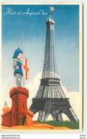 Lion Noir - Hier Et Aujourd'hui - Tours - Tour Eiffel - Publicité