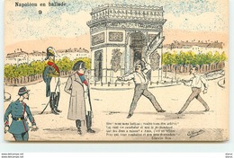 La Bregette - Napoléon En Ballade N°9 - Texte De Célestin Bosc - Illustrateurs & Photographes