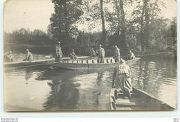 Construction D'un Pont De Bateaux Par Le Génie - N°16 - Regimenten