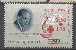 HAITI PA CROIX ROUGE N° 287 NEUF** LUXE SANS CHARNIERE / MNH - Haïti