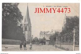 CPA - SCEAUX - Rue Houdan En 1915 - L' Eglise - 92 Hauts De Seine - N° 3 - E. L. D. - Sceaux