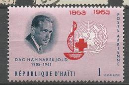 HAITI PA CROIX ROUGE N° 285 NEUF** LUXE SANS CHARNIERE / MNH - Haïti