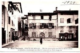 (66) PRATS DE MOLLO  - LA MAIRIE EN 1929 -       Bb-101020 - Autres Communes