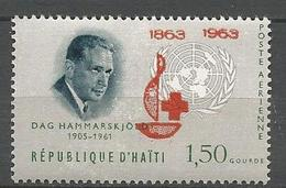 HAITI PA CROIX ROUGE N° 286 NEUF** LUXE SANS CHARNIERE / MNH - Haïti