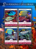 Djibouti   2019 Fauna  Fishes And Corals  S201907 - Djibouti (1977-...)