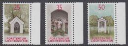Liechtenstein 1988 Chapels 3v ** Mnh (44312A) - Liechtenstein