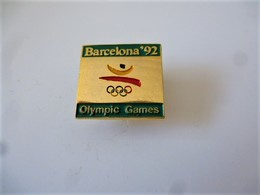PINS  JEUX OLYMPIQUES BARCELONA 92 OLYMPIC GAMES / 33NAT - Jeux Olympiques