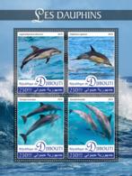 Djibouti   2019 Fauna  Dolphins S201907 - Djibouti (1977-...)